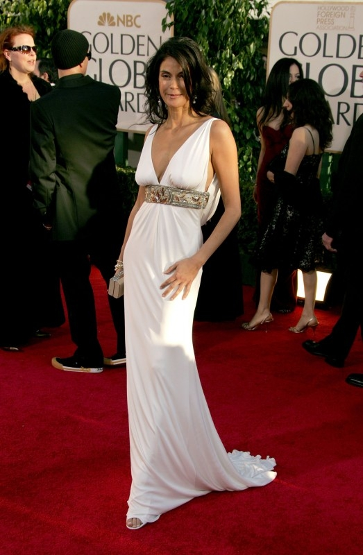 Teri Hatcher ai Golden Globes 2007