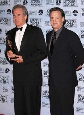 Tom Hanks con Warren Beatty, premiato ad honorem ai Golden Globes 2007