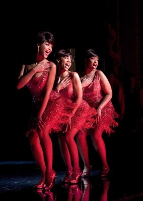 Beyoncé Knowles, Anika Noni Rose e Jennifer Hudson in una scena di Dreamgirls, del 2006