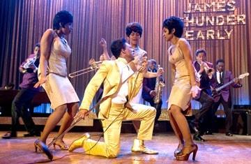 Eddie Murphy con Beyoncé Knowles, Jennifer Hudson e Anika Noni Rose in Dreamgirls