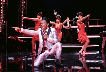 Eddie Murphy, Beyoncé Knowles, Jennifer Hudson e Anika Noni Rose in Dreamgirls
