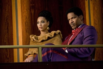 Jamie Foxx e Beyonce Knowles in una scena di Dreamgirls