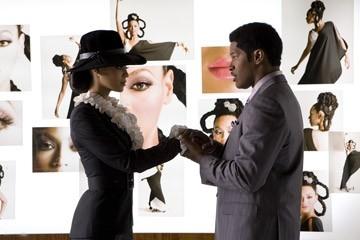 Jamie Foxx e Beyonce in una scena di Dreamgirls