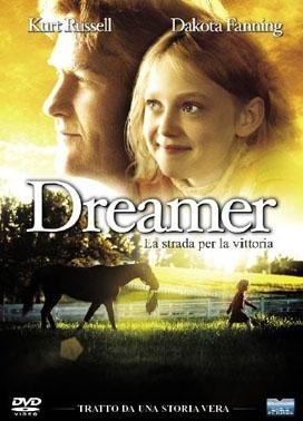 La copertina DVD di Dreamer - La strada per la vittoria
