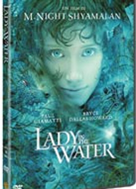 La copertina DVD di Lady in the Water