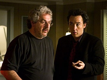 Ramis e John Cusack sul set del film The Ice Harvest