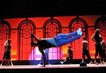 Channing Tatum in una scena di Step Up