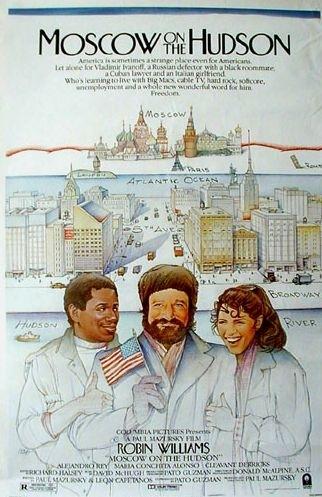 La locandina di Mosca a New York