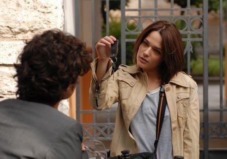 Riccardo Scamarcio e Laura Chiatti in una scena del film Ho voglia di te