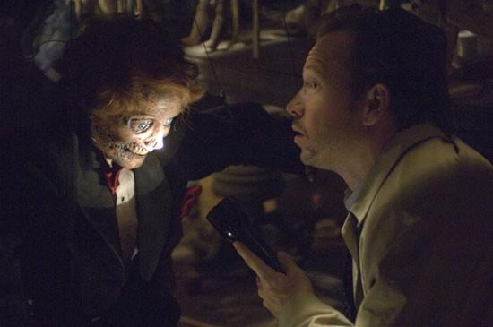 Una scena del film Dead Silence, del 2007