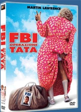 La copertina DVD di FBI Operazione Tata