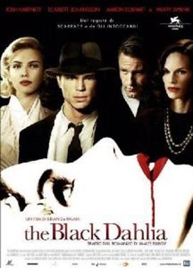 La copertina DVD di The Black Dahlia