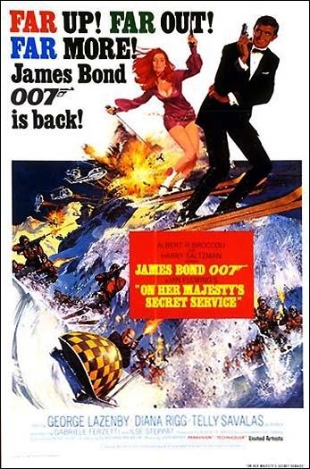 La locandina di Agente 007, al servizio segreto di sua maestà