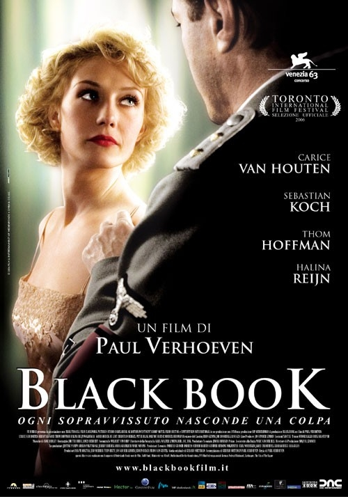 La locandina italiana di Black Book