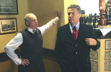 renato Pozzetto e Cochi Ponzoni in una scena del film Un amore su misura