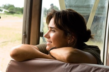 Una splendida Jennifer Connelly in una scena del film Blood Diamond - Diamanti di sangue