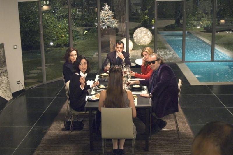 Una scena del film La cena per farli conoscere