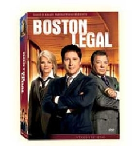 La copertina DVD di Boston Legal - Stagione 1