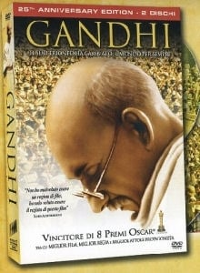 La copertina DVD di Gandhi - 25th Anniversary Edition