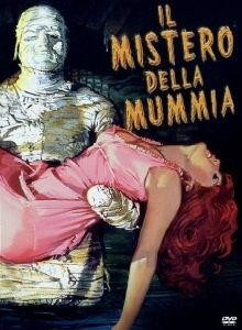 La copertina DVD di Il mistero della mummia