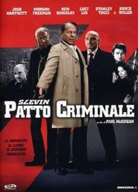 La copertina DVD di Slevin - Patto criminale - Ediz. Light