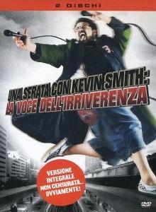 La copertina DVD di Una serata con Kevin Smith: la voce dell'irriverenza