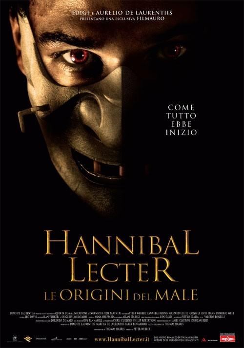 La locandina italiana di Hannibal Rising