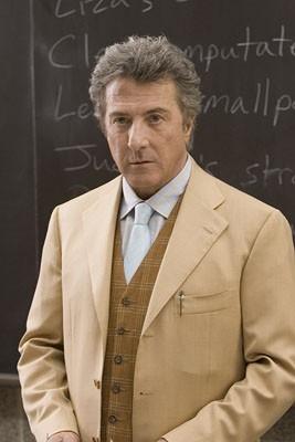 Dustin Hoffman in una scena di Vero come la finzione