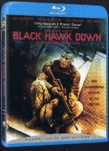 La copertina DVD di Black Hawk Down - Black Hawk abbattuto (Blu-Ray)