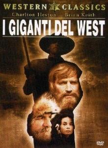 La copertina DVD di I giganti del West