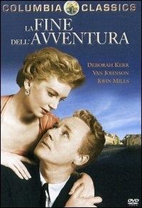 La copertina DVD di La fine dell'avventura