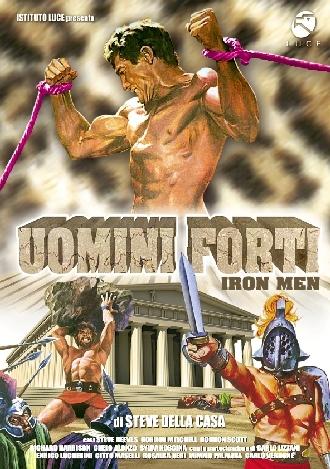 La copertina DVD di Uomini forti