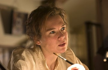 Renee Zellweger in una scena di Miss Potter