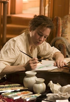 Renee Zellweger in una sequenza di Miss Potter