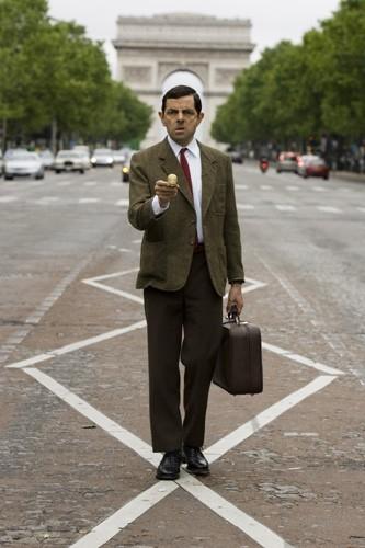 Rowan Atkinson in una scena del film Mr. Bean's Holiday