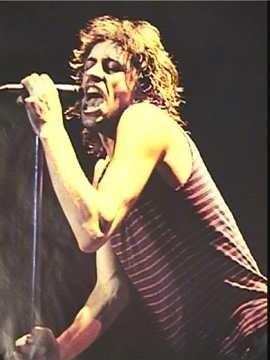 Bob Geldof ad un concerto