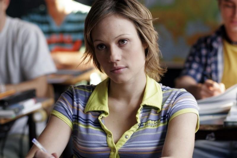 Chiara Mastalli in una scena del film Notte prima degli esami - Oggi
