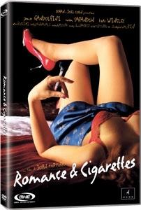 La copertina DVD di Romance & Cigarettes