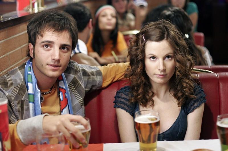 Nicolas Vaporidis e Sarah Maestri in una scena del film Notte prima degli esami - Oggi