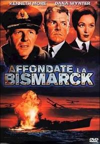 La copertina DVD di Affondate la Bismarck