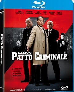 La copertina DVD di Slevin - Patto criminale (Blu-Ray)