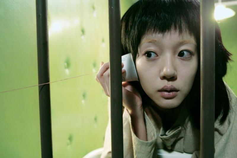 Lim Su-Jeong in una scena di 'I'm a Cyborg, but That's OK'