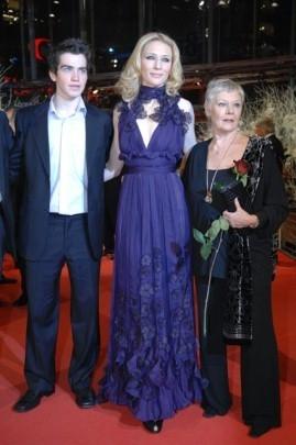 Andrew Simpson, Judi Dench e Cate Blanchett alla Berlinale 2007 per presentare il film Diario di uno scandalo