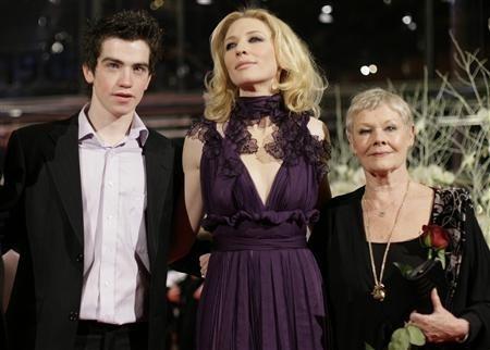 Andrew Simpson, Judi Dench e una splendida Cate Blanchett alla Berlinale 2007 per presentare il film Diario di uno scandalo