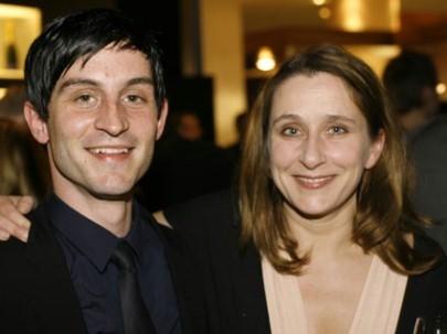 Christoph Bach e Barbara Philipp a berlino 2007 per presentare il film Blindflug