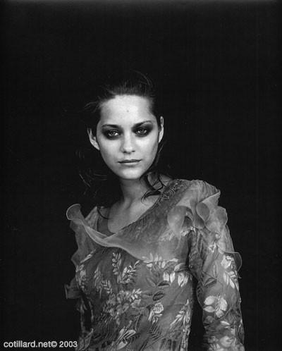 l'attrice francese Marion Cotillard