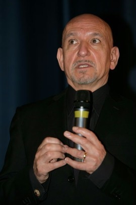 Sir Ben Kingsley, ospite speciale della proiezione deò documentario I have never forgotten you - The Life and Legacy of Simon Wiesenthal