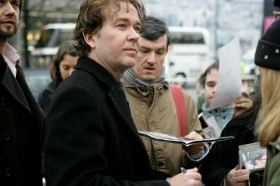 Timothy Hutton a Berlino 2007 per presetare il film When a Man Falls in the Forest