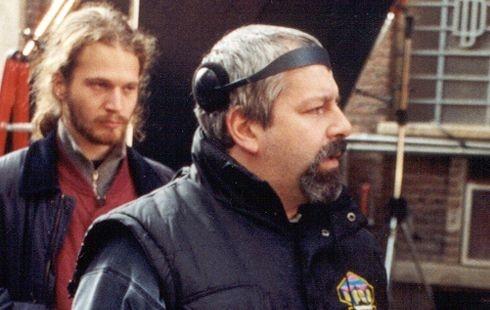 Una foto scattata sul set del film Hermano
