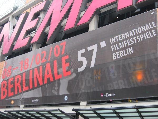 Berlinale 2007, uno dei multisala in cui si svolgono le anteprime del Festival.